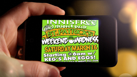 Innisfree Irish Pub – St. Patrick's Weekend Madness 2013